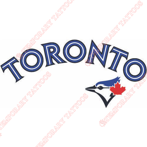 Toronto Blue Jays Customize Temporary Tattoos Stickers NO.2007