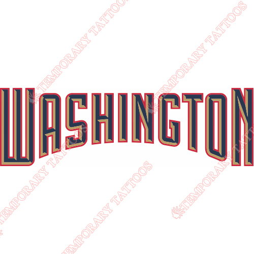 Washington Nationals Customize Temporary Tattoos Stickers NO.2022