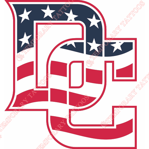 Washington Nationals Customize Temporary Tattoos Stickers NO.2024