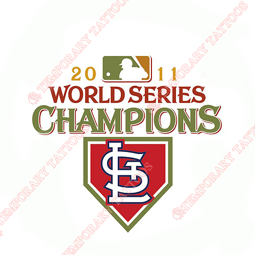 World Series Champions Customize Temporary Tattoos Stickers NO.2029