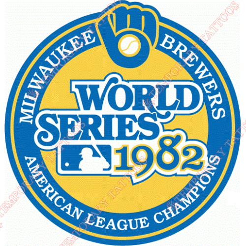 World Series Champions Customize Temporary Tattoos Stickers NO.2031