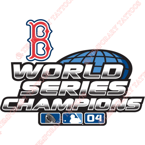 World Series Champions Customize Temporary Tattoos Stickers NO.2034