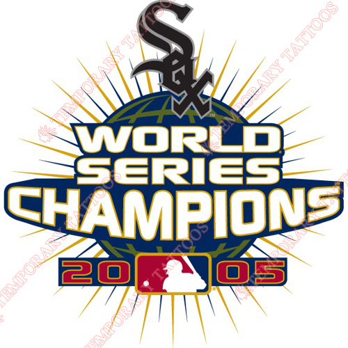 World Series Champions Customize Temporary Tattoos Stickers NO.2035