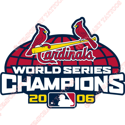 World Series Champions Customize Temporary Tattoos Stickers NO.2036