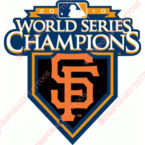 World Series Champions Customize Temporary Tattoos Stickers NO.2038