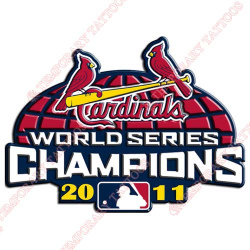 World Series Champions Customize Temporary Tattoos Stickers NO.2039