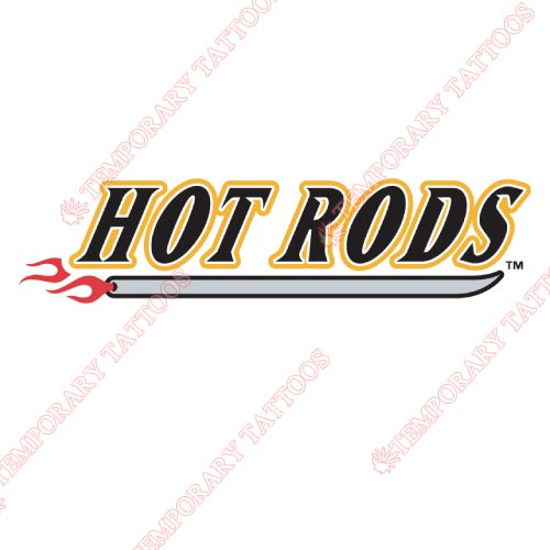 Bowling Green Hot Rods Customize Temporary Tattoos Stickers NO.8069