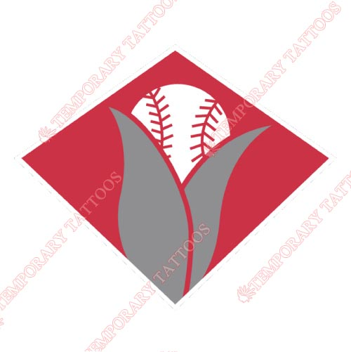 Cedar Rapids Kernels Customize Temporary Tattoos Stickers NO.8083