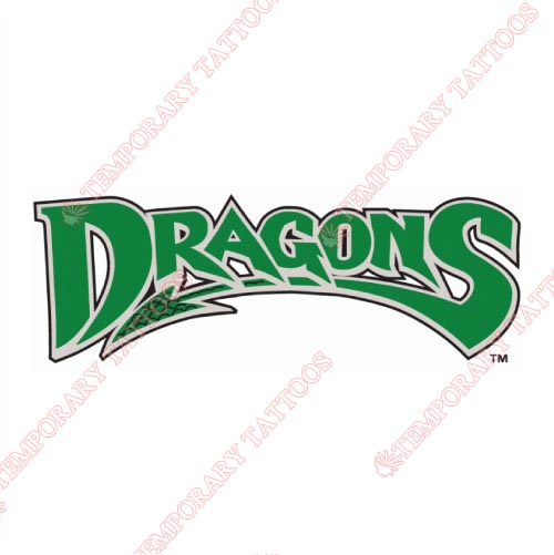 Dayton Dragons Customize Temporary Tattoos Stickers NO.8098