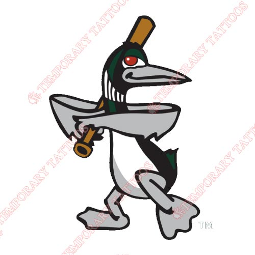 Great Lakes Loons Customize Temporary Tattoos Stickers NO.8105