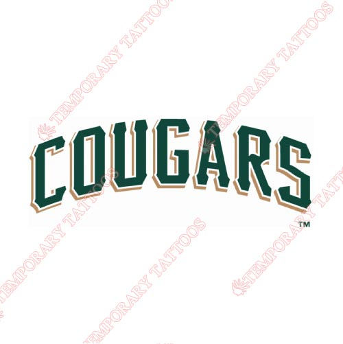 Kane County Cougars Customize Temporary Tattoos Stickers NO.8107