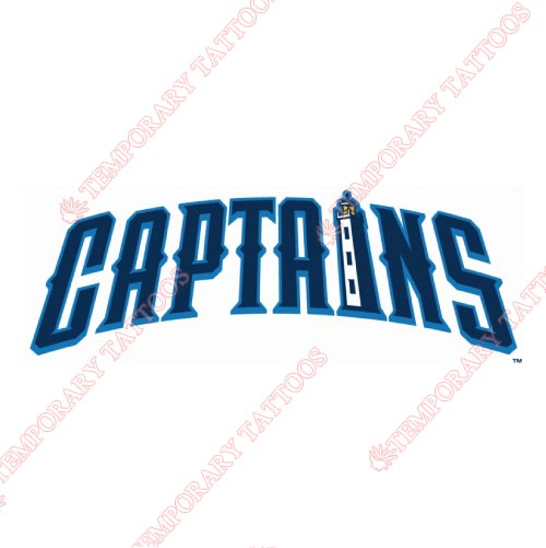 Lake County Captains Customize Temporary Tattoos Stickers NO.8113