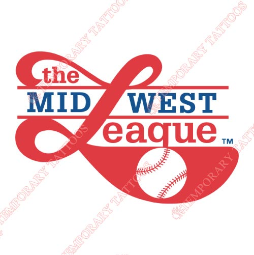 Midwest League Customize Temporary Tattoos Stickers NO.8116