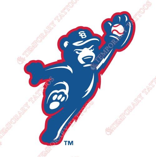 South Bend Cubs Customize Temporary Tattoos Stickers NO.8131