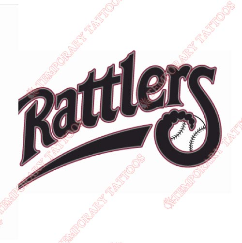 Wisconsin Timber Rattlers Customize Temporary Tattoos Stickers NO.8141