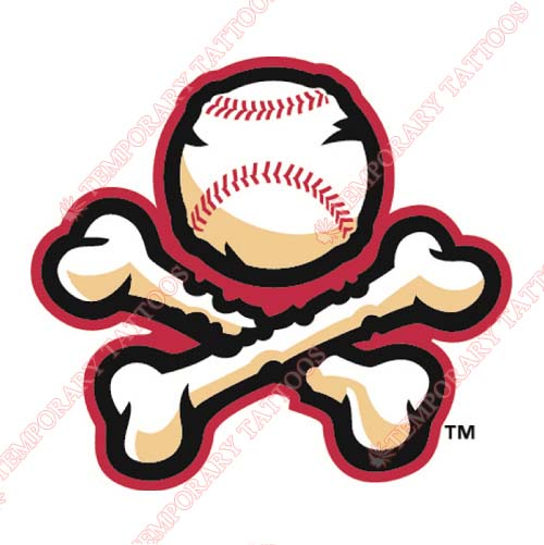 El Paso Chihuahuas Customize Temporary Tattoos Stickers NO.8153