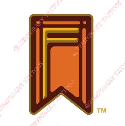 Fresno Grizzlies Customize Temporary Tattoos Stickers NO.8160
