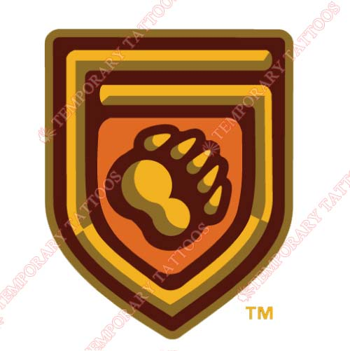 Fresno Grizzlies Customize Temporary Tattoos Stickers NO.8162