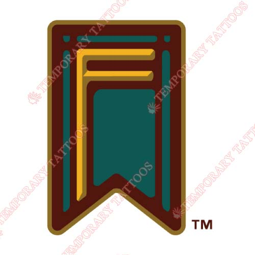Fresno Grizzlies Customize Temporary Tattoos Stickers NO.8163