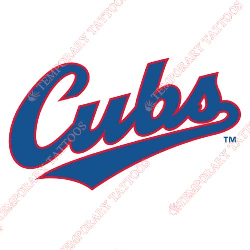 Iowa Cubs Customize Temporary Tattoos Stickers NO.8167