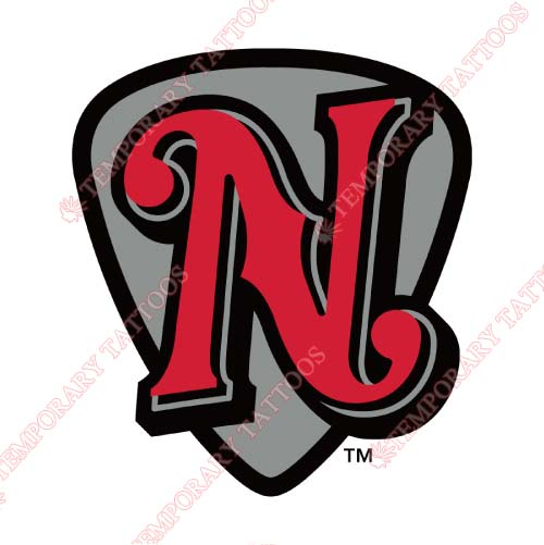 Nashville Sounds Customize Temporary Tattoos Stickers NO.8181