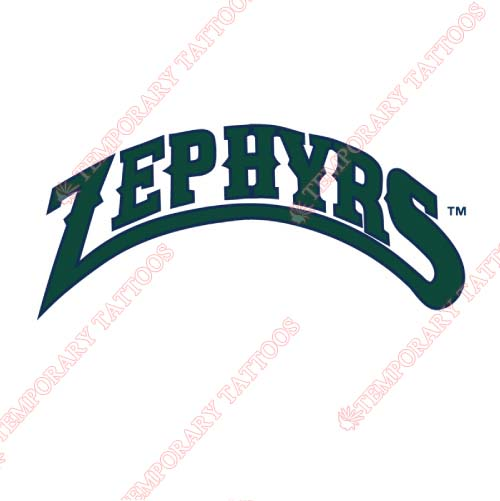 New Orleans Zephyrs Customize Temporary Tattoos Stickers NO.8190