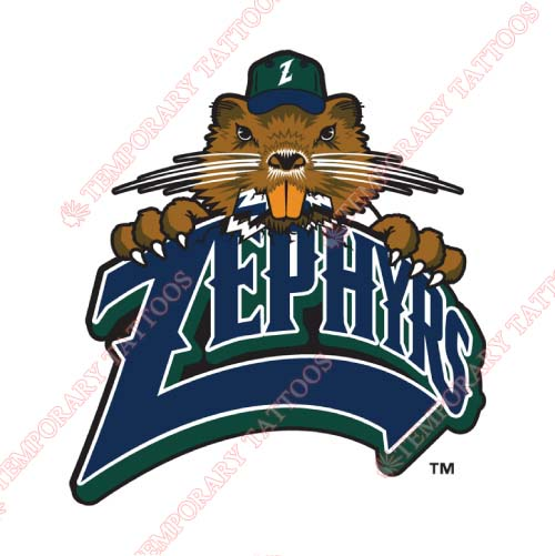 New Orleans Zephyrs Customize Temporary Tattoos Stickers NO.8192