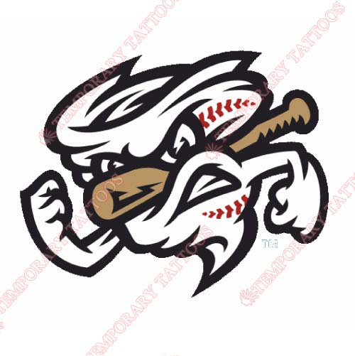 Omaha Storm Chasers Customize Temporary Tattoos Stickers NO.8207