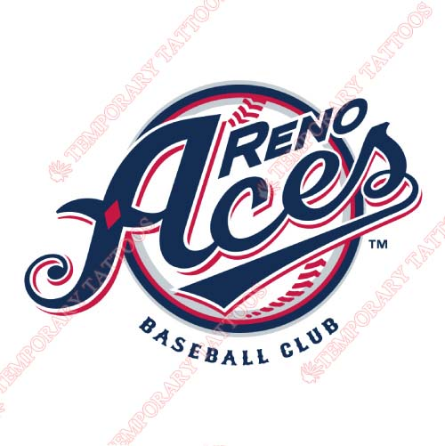 Reno Aces Customize Temporary Tattoos Stickers NO.8212