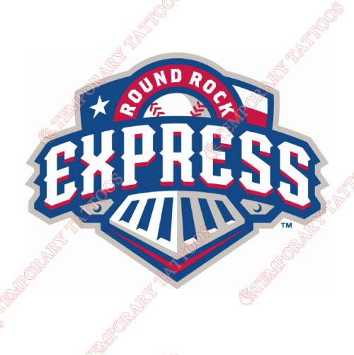 Round Rock Express Customize Temporary Tattoos Stickers NO.8217