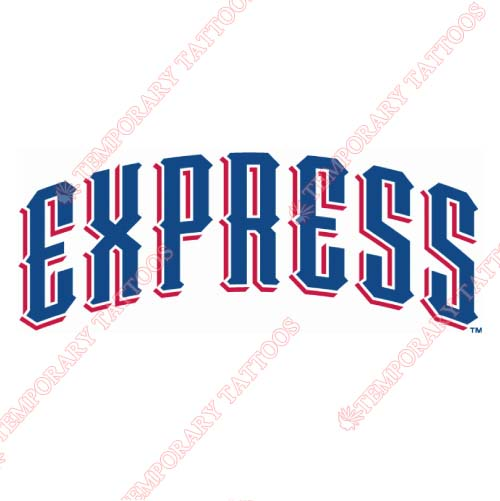 Round Rock Express Customize Temporary Tattoos Stickers NO.8218