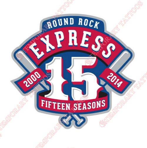 Round Rock Express Customize Temporary Tattoos Stickers NO.8219