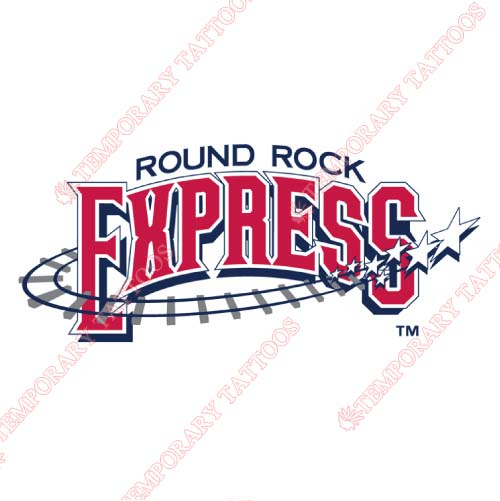 Round Rock Express Customize Temporary Tattoos Stickers NO.8221