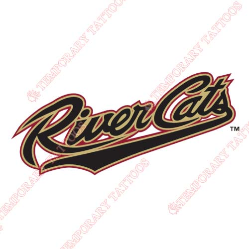 Sacramento River Cats Customize Temporary Tattoos Stickers NO.7695