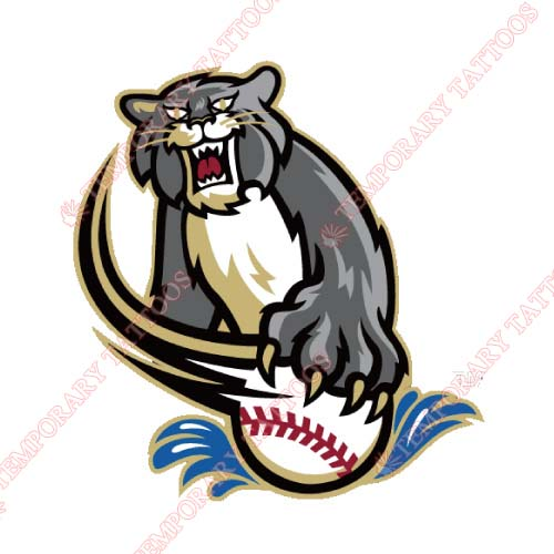 Sacramento River Cats Customize Temporary Tattoos Stickers NO.7698