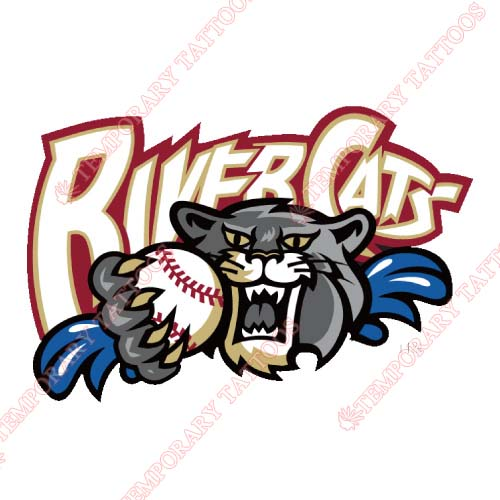 Sacramento River Cats Customize Temporary Tattoos Stickers NO.7699