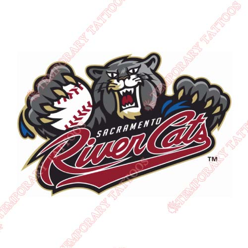 Sacramento River Cats Customize Temporary Tattoos Stickers NO.7702