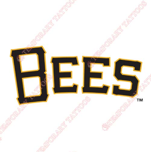 Salt Lake Bees Customize Temporary Tattoos Stickers NO.7703