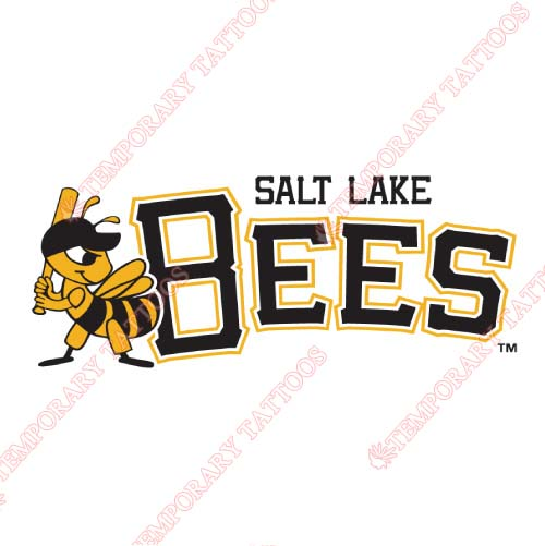 Salt Lake Bees Customize Temporary Tattoos Stickers NO.7706