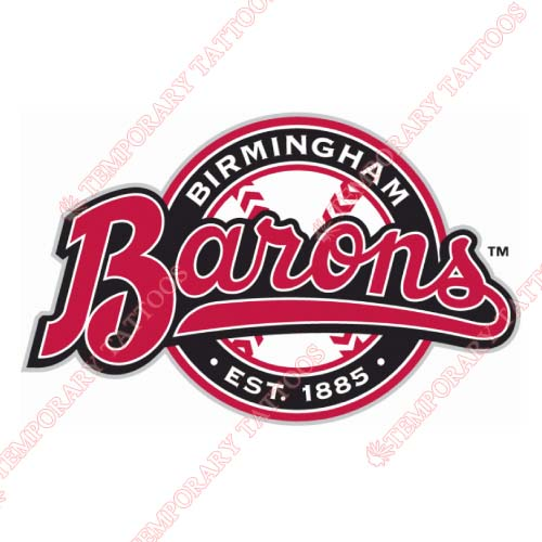 Birmingham Barons Customize Temporary Tattoos Stickers NO.7714