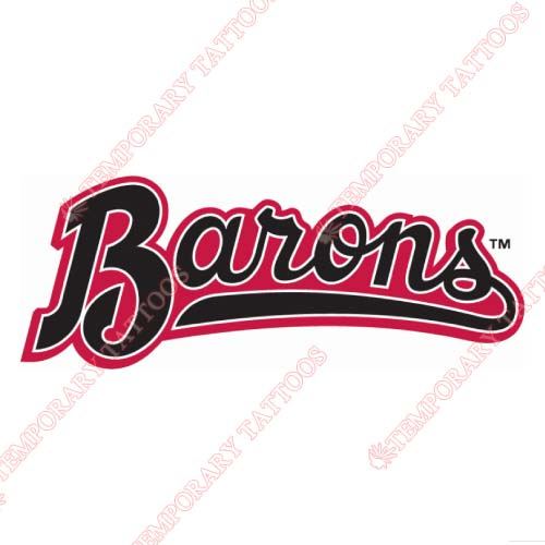 Birmingham Barons Customize Temporary Tattoos Stickers NO.7715