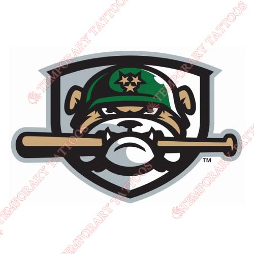 Jackson Generals Customize Temporary Tattoos Stickers NO.7719