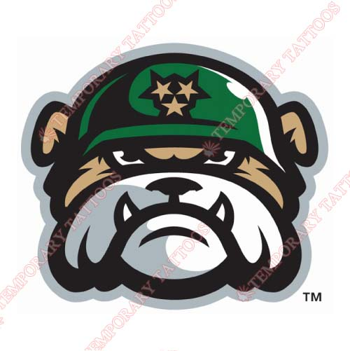 Jackson Generals Customize Temporary Tattoos Stickers NO.7721