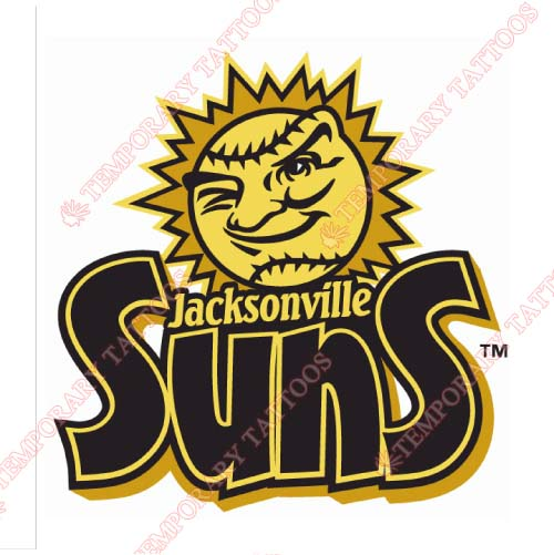 Jacksonville Suns Customize Temporary Tattoos Stickers NO.7725