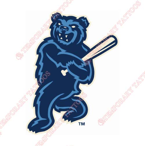 Mobile BayBears Customize Temporary Tattoos Stickers NO.7734