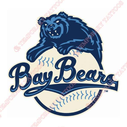 Mobile BayBears Customize Temporary Tattoos Stickers NO.7735