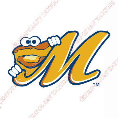Montgomery Biscuits Customize Temporary Tattoos Stickers NO.7740