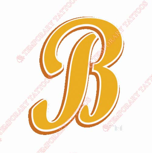 Montgomery Biscuits Customize Temporary Tattoos Stickers NO.7741