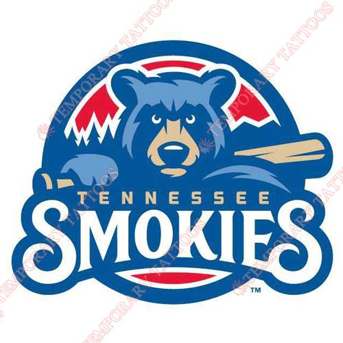 Tennessee Smokies Customize Temporary Tattoos Stickers NO.7750