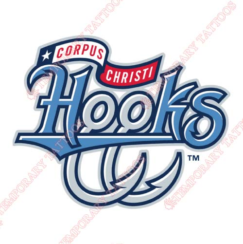 Corpus christi hooks customize temporary tattoos stickers no 7763